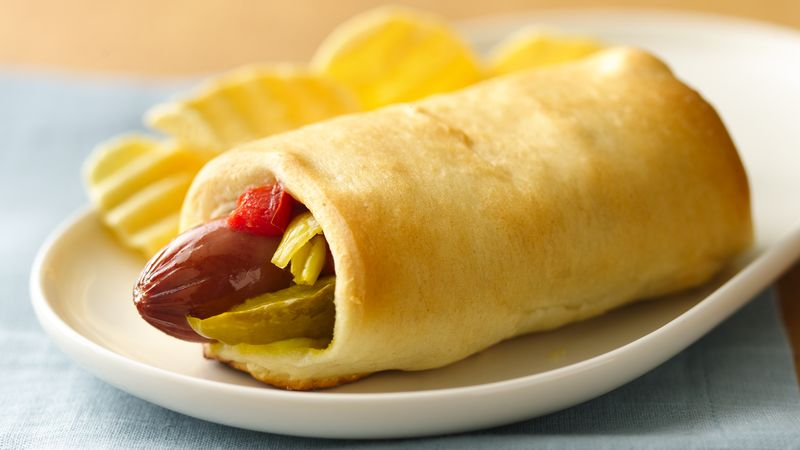 Chicago-Style Crescent Dogs