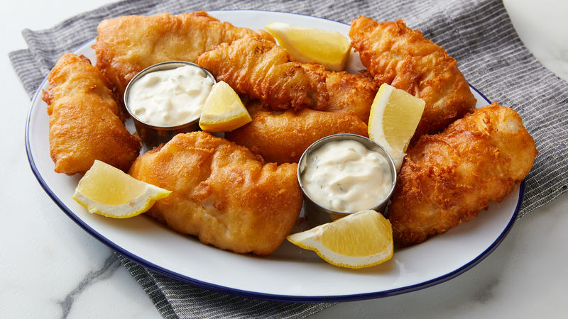 Beer Batter-Fried Fish
