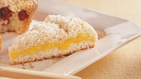 Lemon-Filled Fresh Ginger Scones