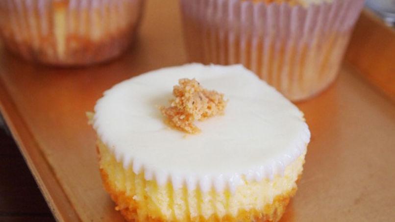 Turrón de Doña Pepa Cheesecake Cupcakes