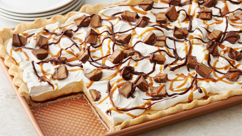 Rolo Slab Pie Recipe Bettycrocker