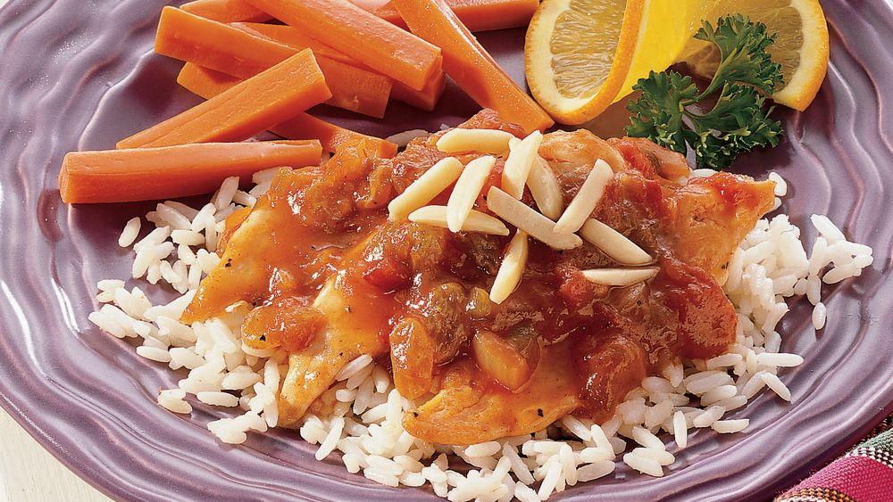 Apricot-Orange Chicken Picadillo