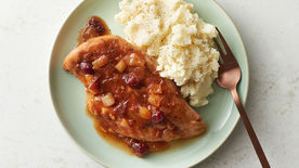 Slow-Cooker Cranberry Glazed Chicken