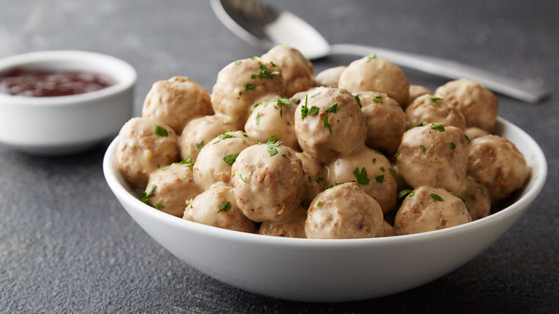Copycat Ikea Swedish Meatballs Recipe Tablespoon Com