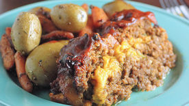 Easy Bacon Cheeseburger Meatloaf