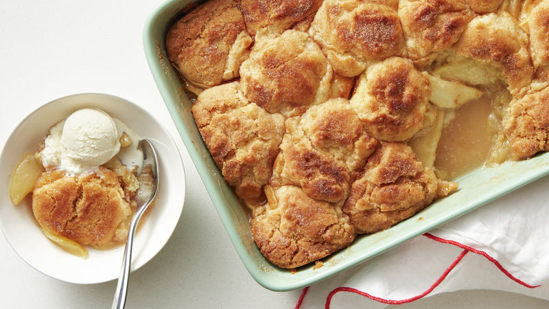Snickerdoodle Apple Cobbler Recipe Bettycrocker Com