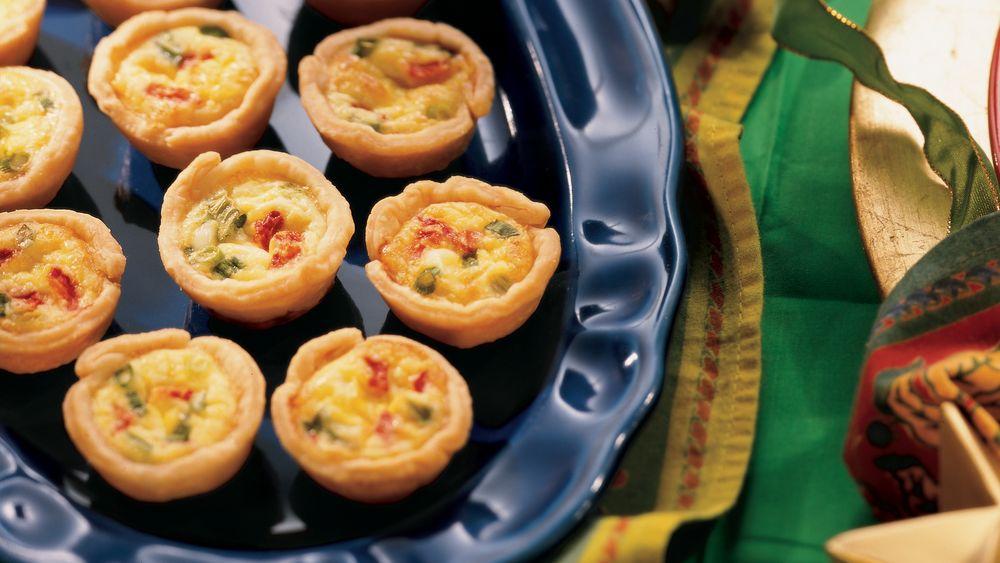 Mini Swiss Quiches recipe from Pillsbury.com
