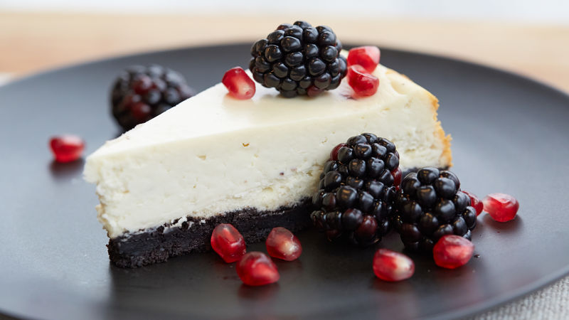 Blackberry Pie Cheesecake