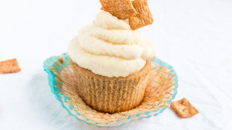 Cupcakes de Cinnamon Toast Crunch™