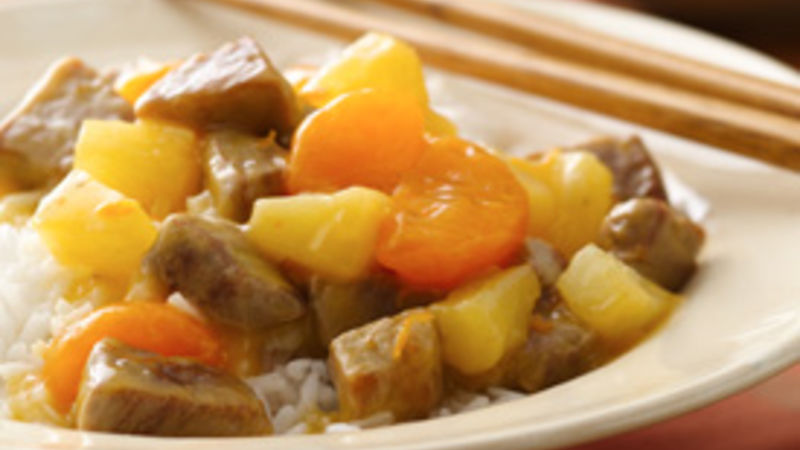 Orange Pork Sauté