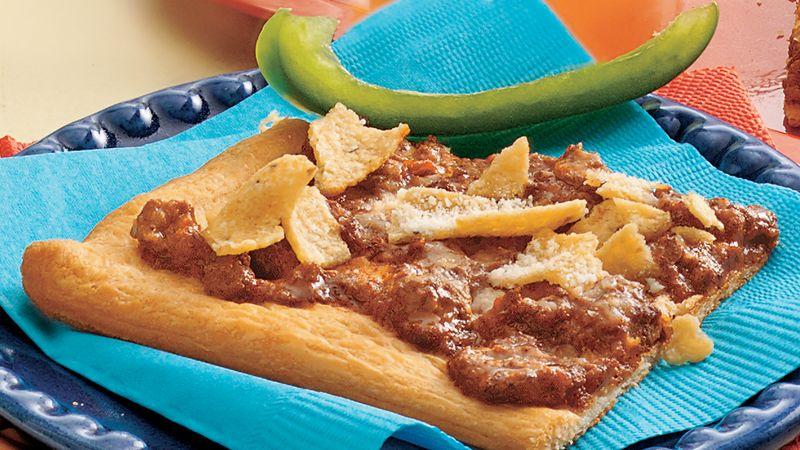 Chili con Crescent Snacks