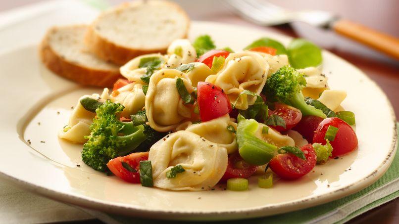 Tortellini with Garden Vegetables