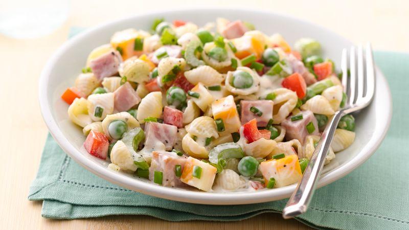 30 Minute Ham And Pasta Salad