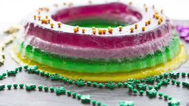 Spiked Jelly King Cake