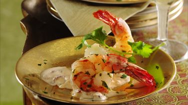 Cilantro-Lime Shrimp with Chile Aïoli