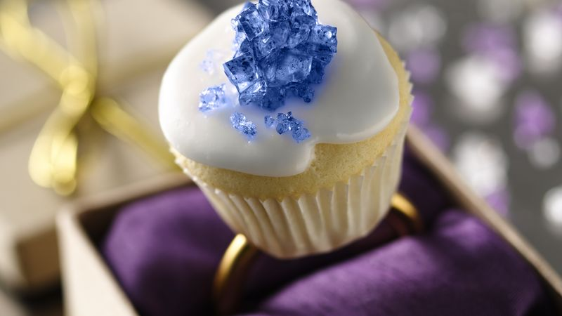 Engagement Ring Mini Cupcakes