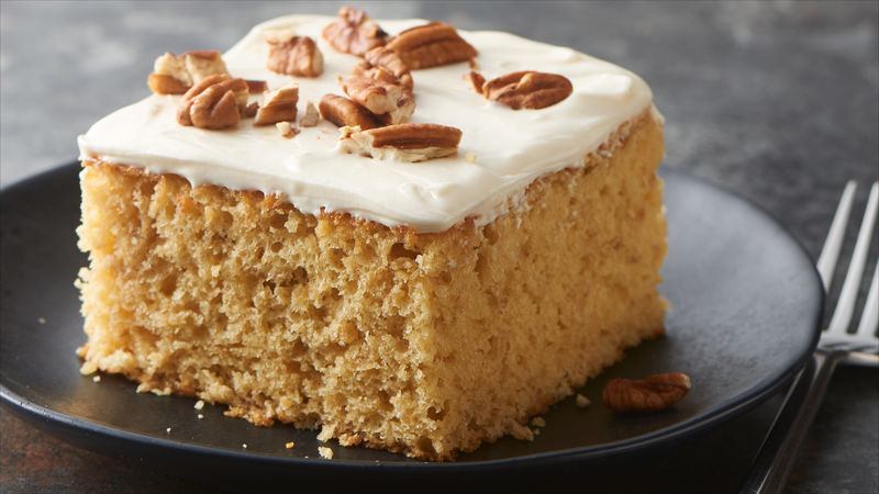 Maple Oatmeal Cake Recipe Bettycrocker Com