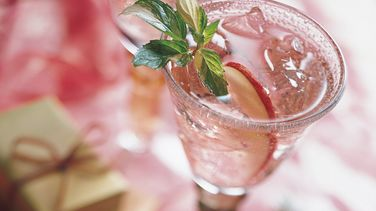 Cranberry-Apple and Wine Spritzer
