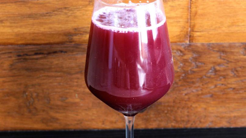Cranberry and Orange Mocktail