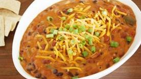 Slow-Cooker Vegetarian Chili Con Queso