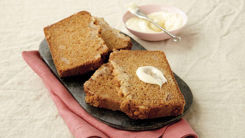 Rhubarb Crumble Loaf