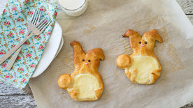 Cream Cheese Crescent Bunnies