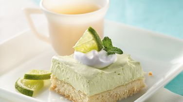 Creamy Lime Squares