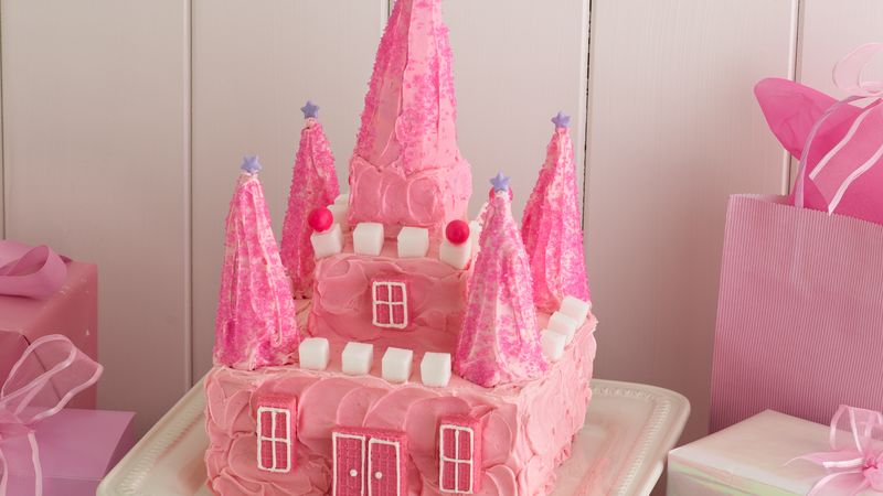 Princess Castle Cake Recipe Bettycrocker Com