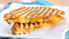 Loaded Baked Potato Grilled Cheese Sandwich