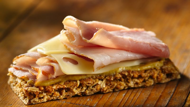 Ham and Cheese Granola Bar