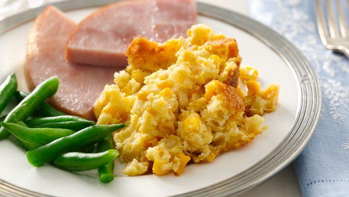 Slow-Cooker Corn Pudding Recipe - BettyCrocker com